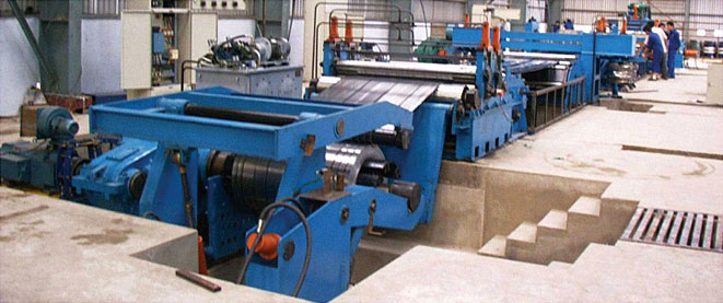 LCZN数控开卷纵横剪切复合生产线